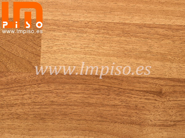 Piso laminado de large embossed finish durable nogal naturale