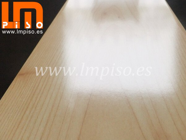 Hot sale shining pisos laminados brillantes terminación color blanco